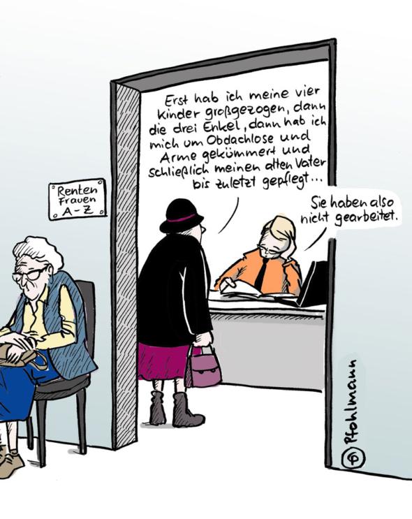 "Cartoon von Christiane ""Chriss"" Pfohlmann www.pfohlmann.de"