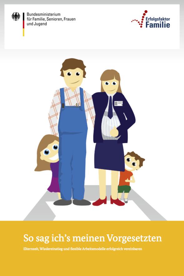 """Wiedereinstieg nach der Elternzeit: Leitfaden """"So sag ich's meinen Vorgesetzten - Elternzeit, Wiedereinstieg und flexible Arbeitsmodelle erfolgreich vereinbaren"""""""