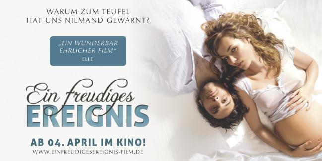 "Kinofilm ""Ein freudiges Ereignis"" (Camino Filmverleih GmbH)"