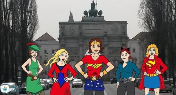 Mami-Heldinnen gesucht. Eine Aktion von Mamikreisel