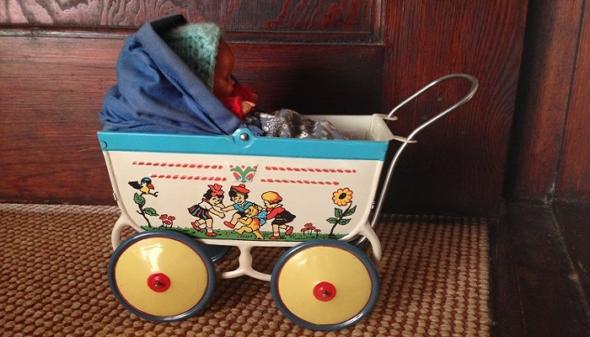 Kinderwagen im Hausflur? (Foto: http://www.smart-mama.de)