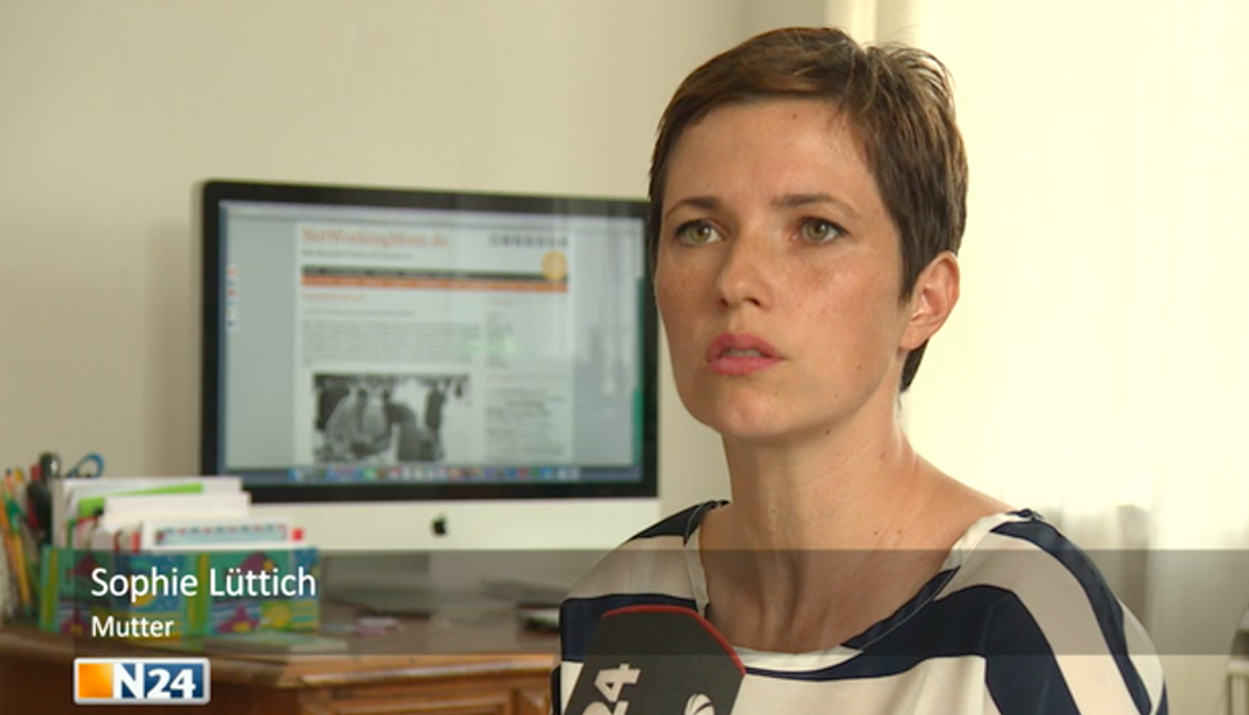 NetWorkingMom im Interview bei N24